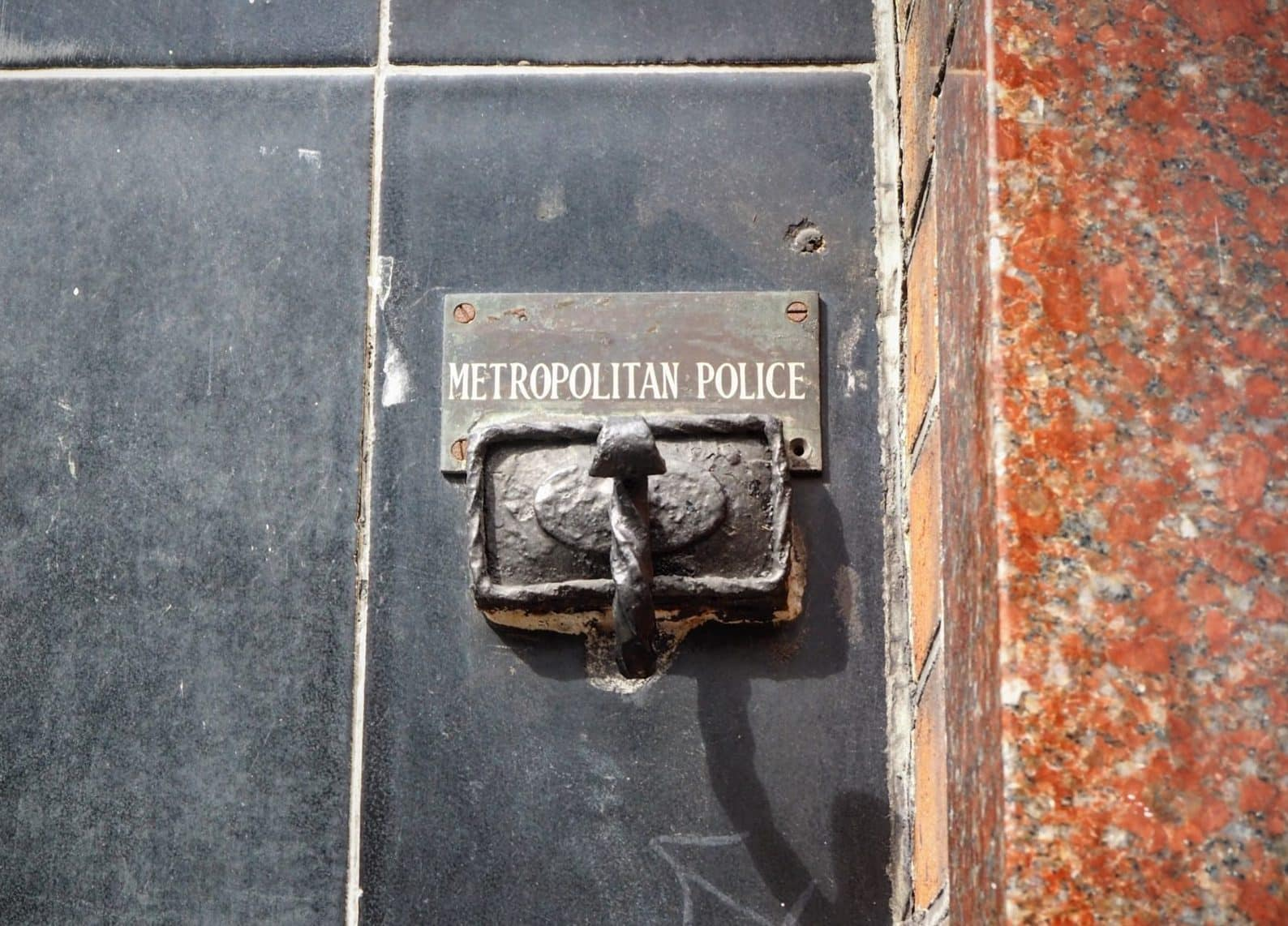 Policeman's Coat Hook