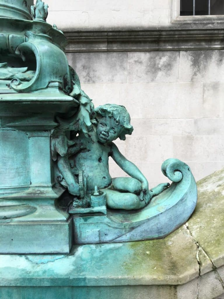 Two Cherubs On The Phone