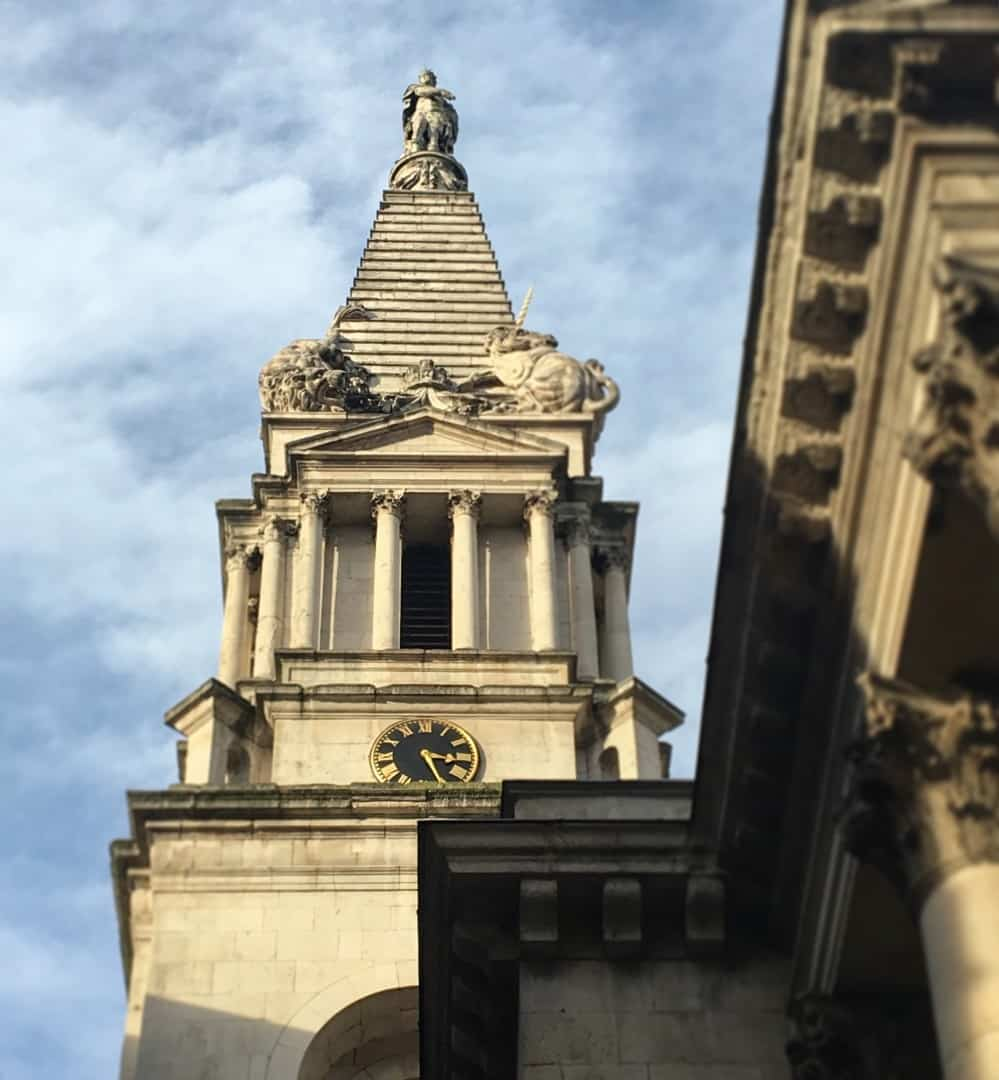 Unusual Steeple London