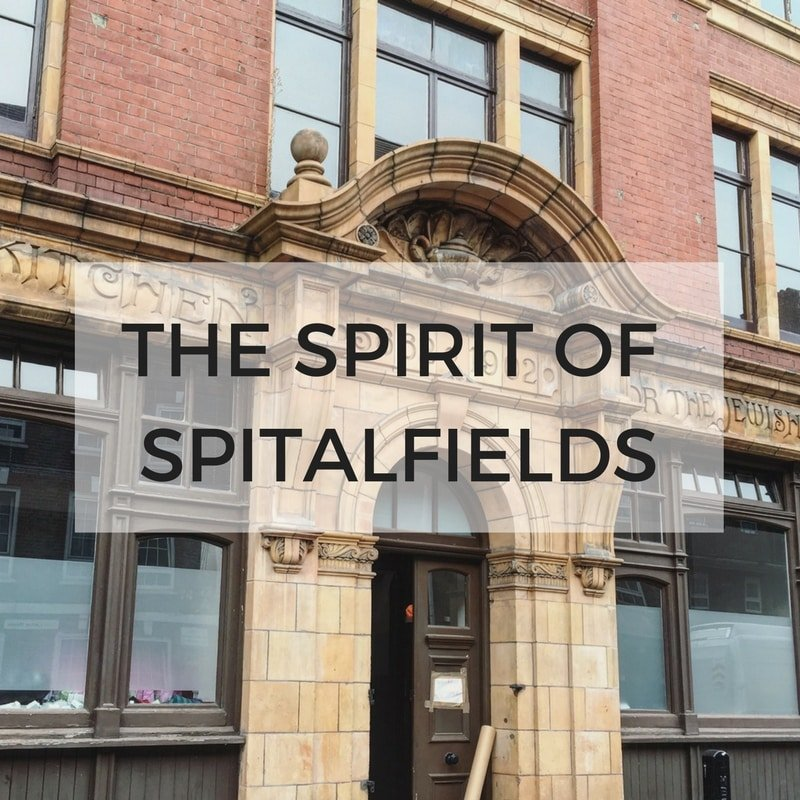 Spitalfields Walking Tour