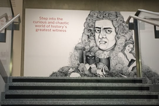 Seven Things I Learned From #PepysShow