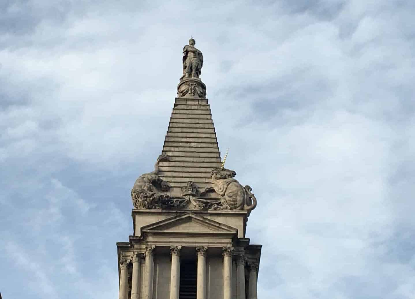 Unusual Steeple in London