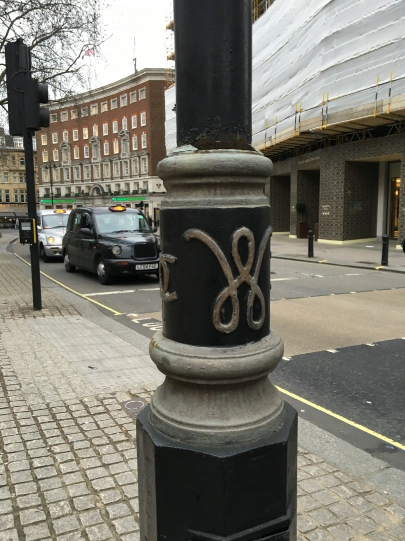 coco chanel westminster lamppost