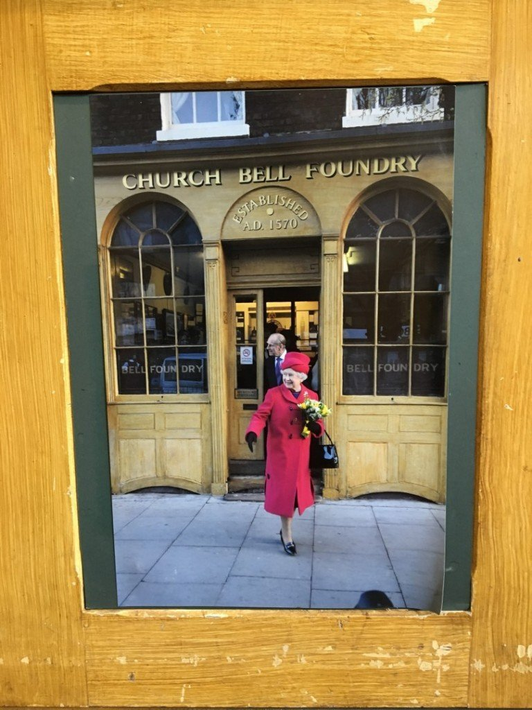 Queen Visits Whitechapel Bell Foundry