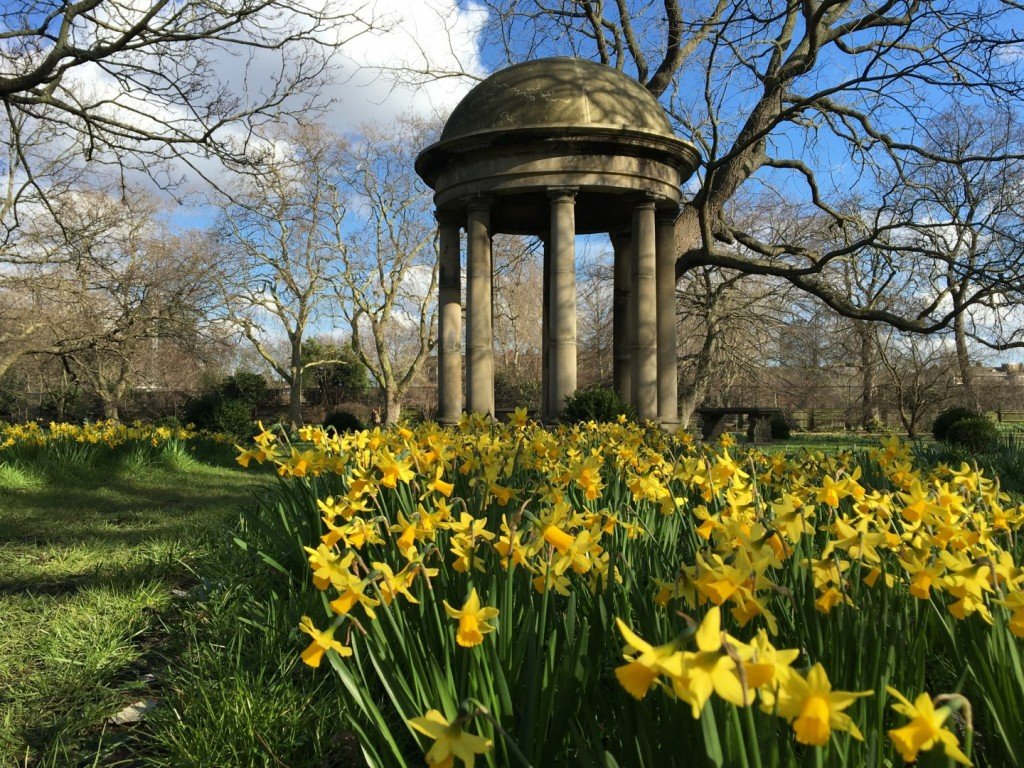 The Rotunda Lambeth Palace Gardens
