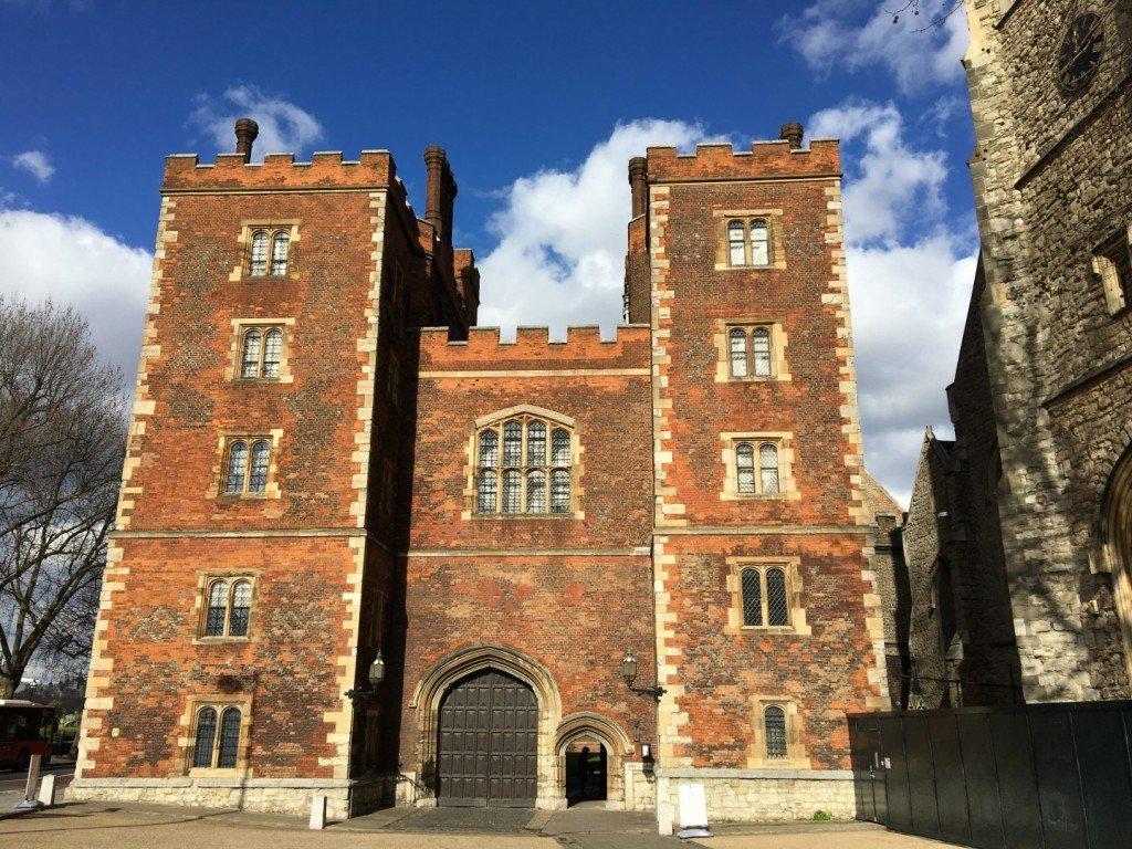 Morton's Tower Lambeth Palace Gardens