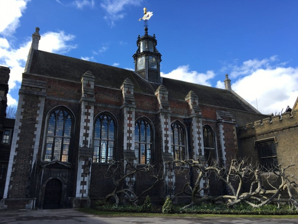 The Great Hall Lambeth Palace Gardens
