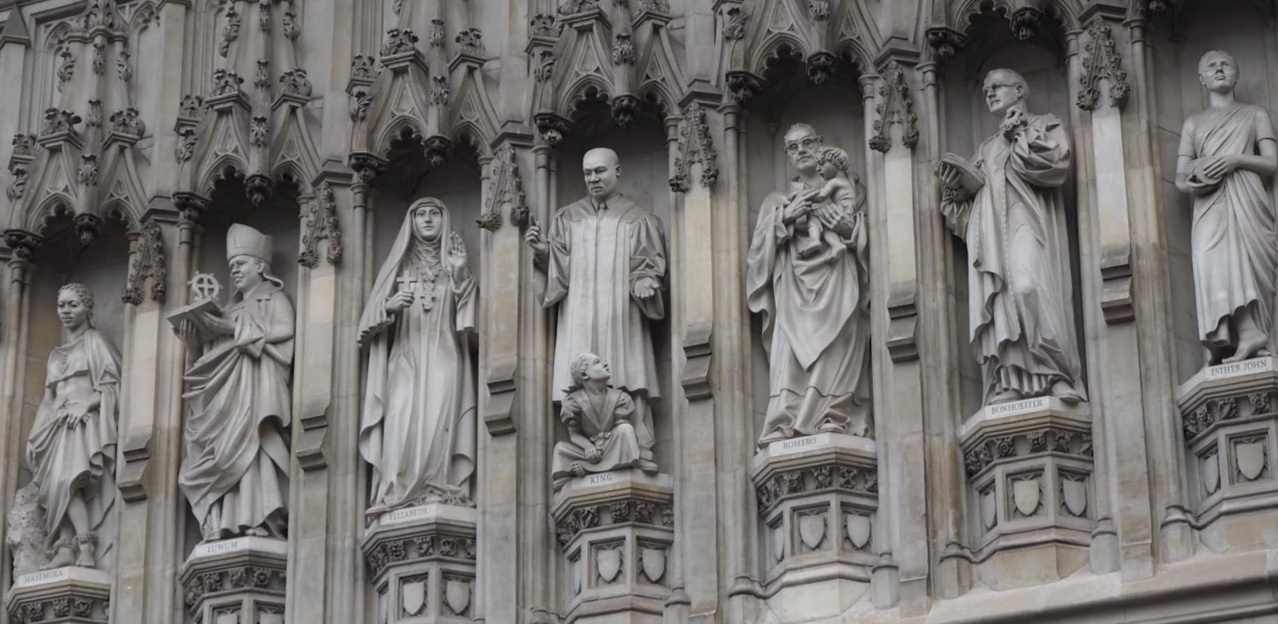 The American on Westminster Abbey