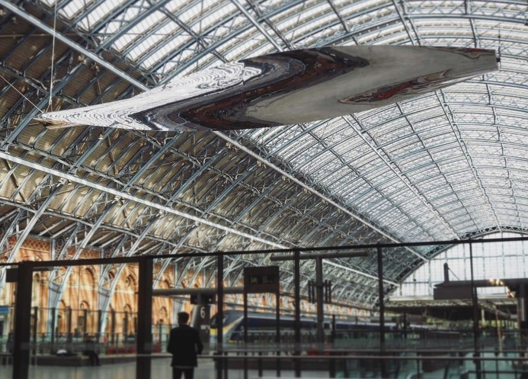 St Pancras New Artwork