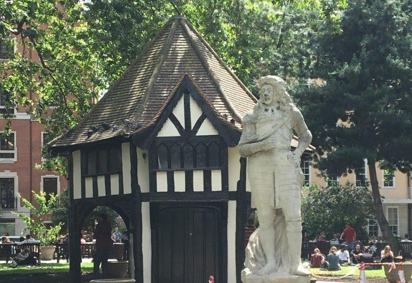 The Hut in Soho Square