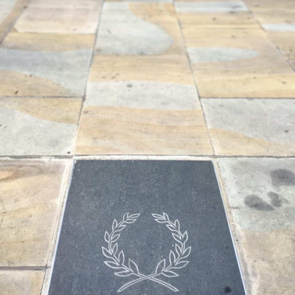 Roman Grave Under Gherkin
