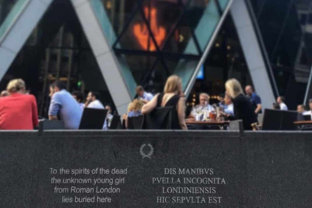 Roman Girl Buried Under Gherkin