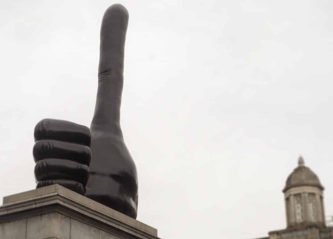 David Shrigley New Fourth Plinth