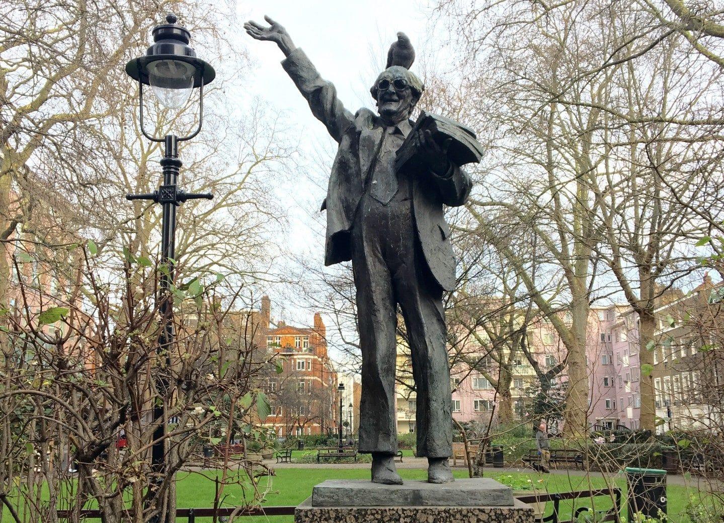 Fenner Brockway Sculpture
