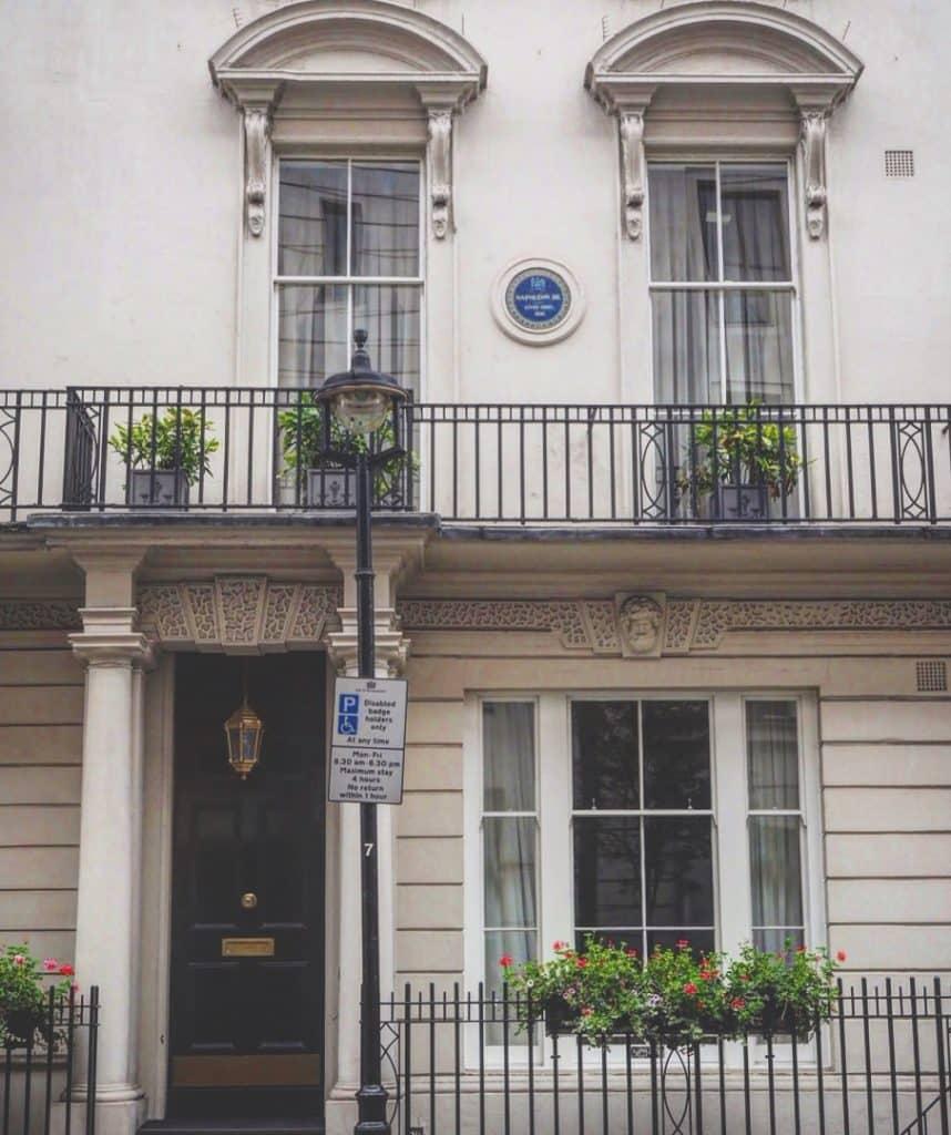 London's Oldest Blue Plaque