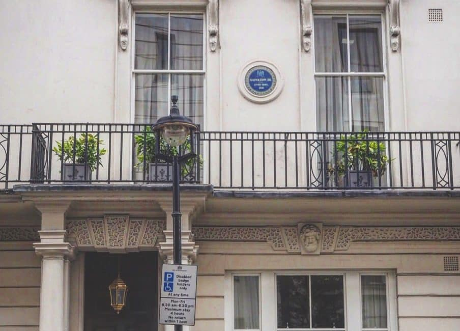 London's First Blue Plaque