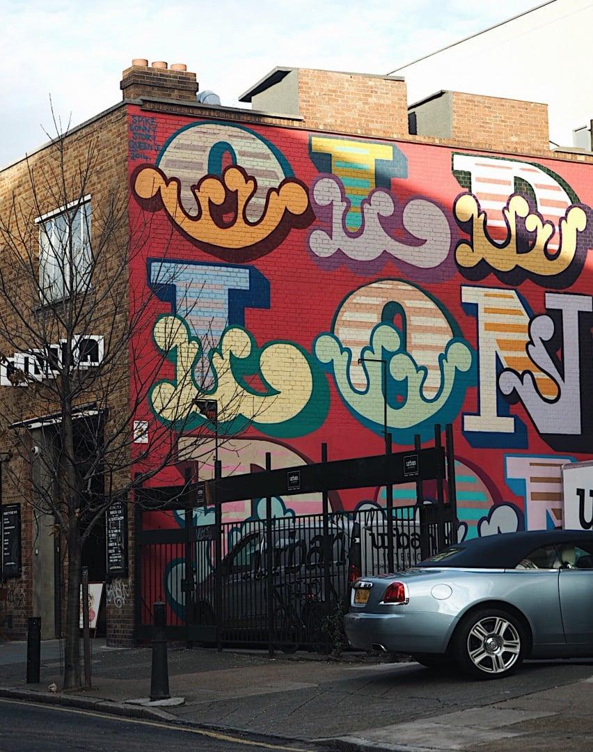 Shoreditch Gardens: Best Shoreditch Street Art · Look Up London · Revealing