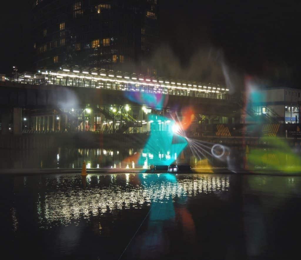 Canary Wharf Winter Lights Festival 2017