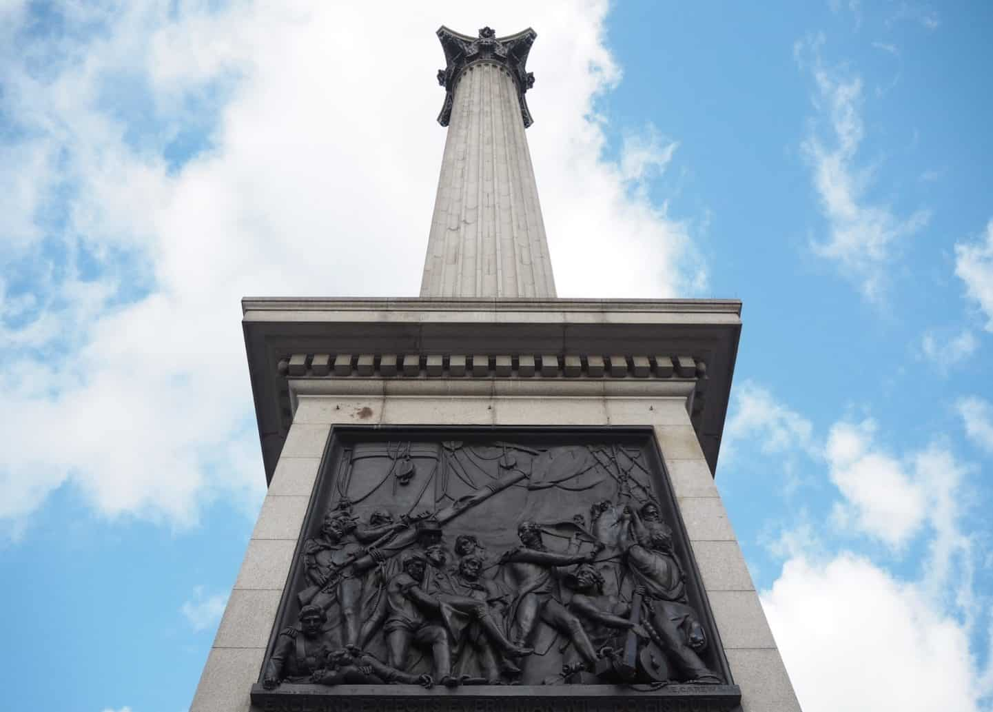 Black Sailor Nelson's Column