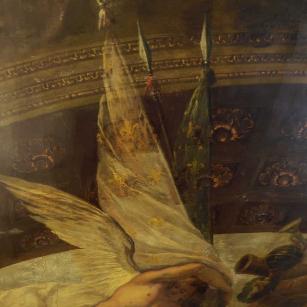 painted hall ceiling tour