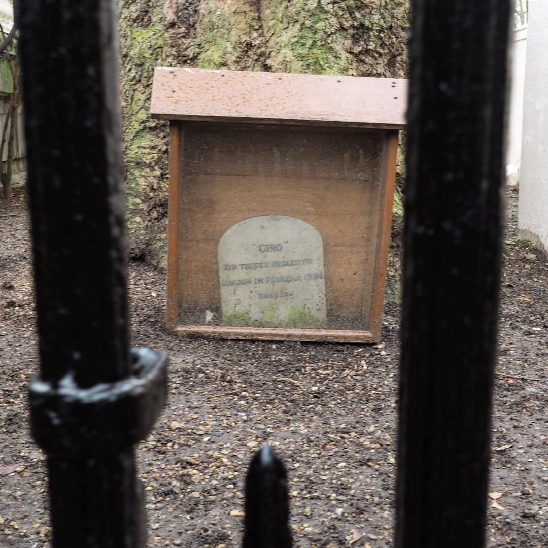 Giro London Nazi Memorial