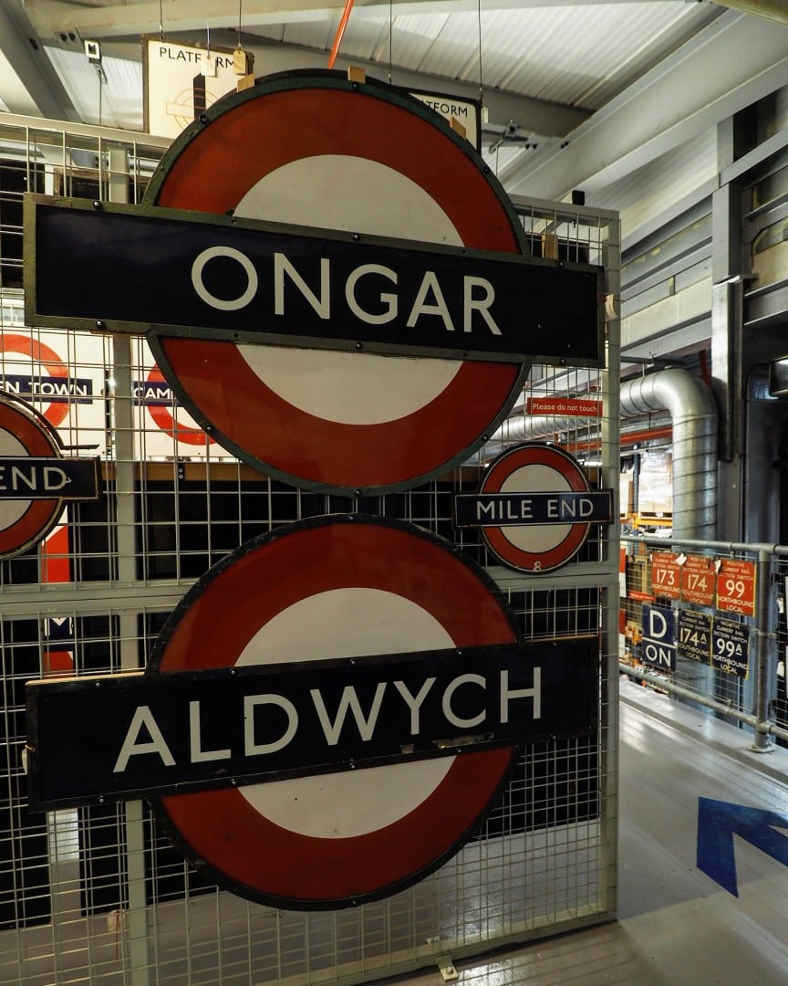 London Transport Museum Depot Open Weekend