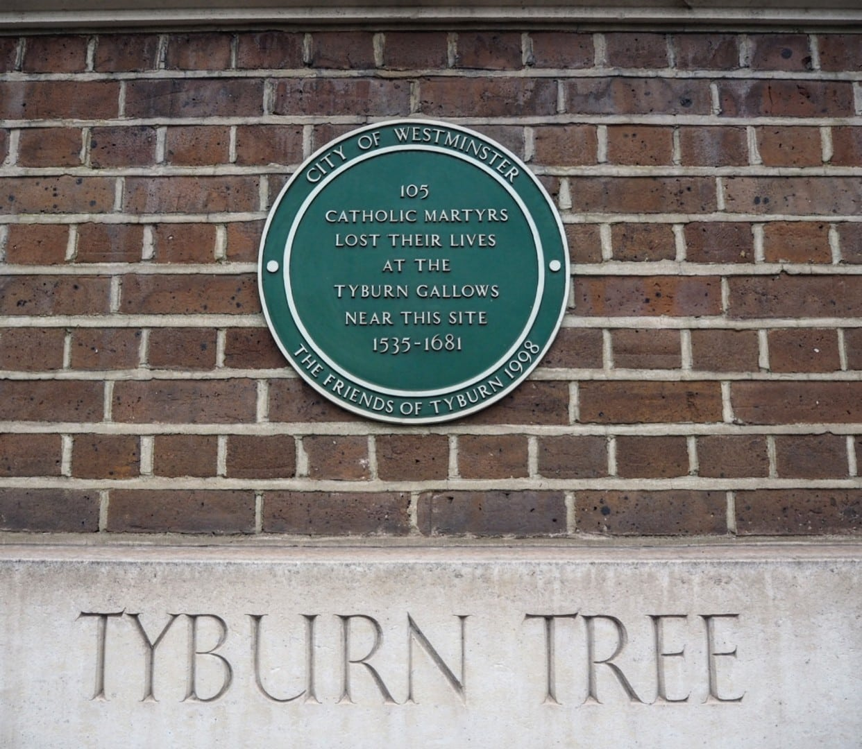 Tyburn Tree Marble Arch