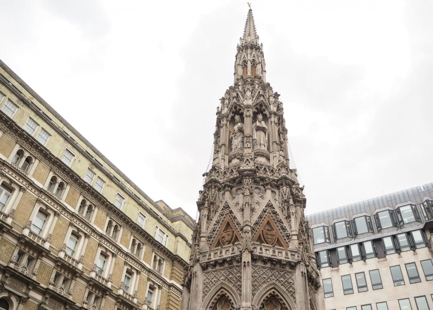 The Eleanor Cross of Charing Cross