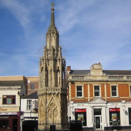 The Eleanor Cross of Charing Cross
