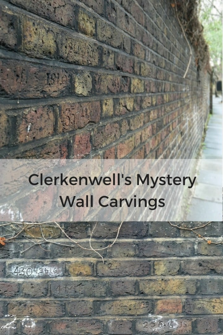 Clerkenwell's Mystery Wall Carvings