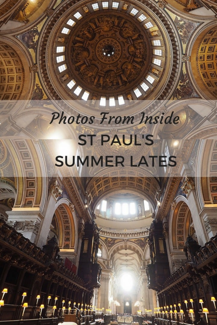 St Pauls Summer Lates