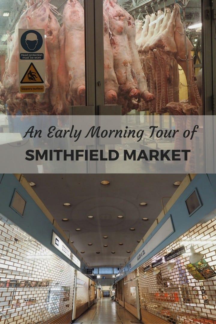 Early Morning at Smithfield Market