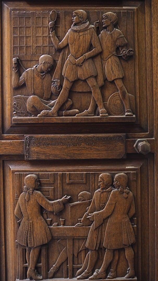 Cornhill History Doorway