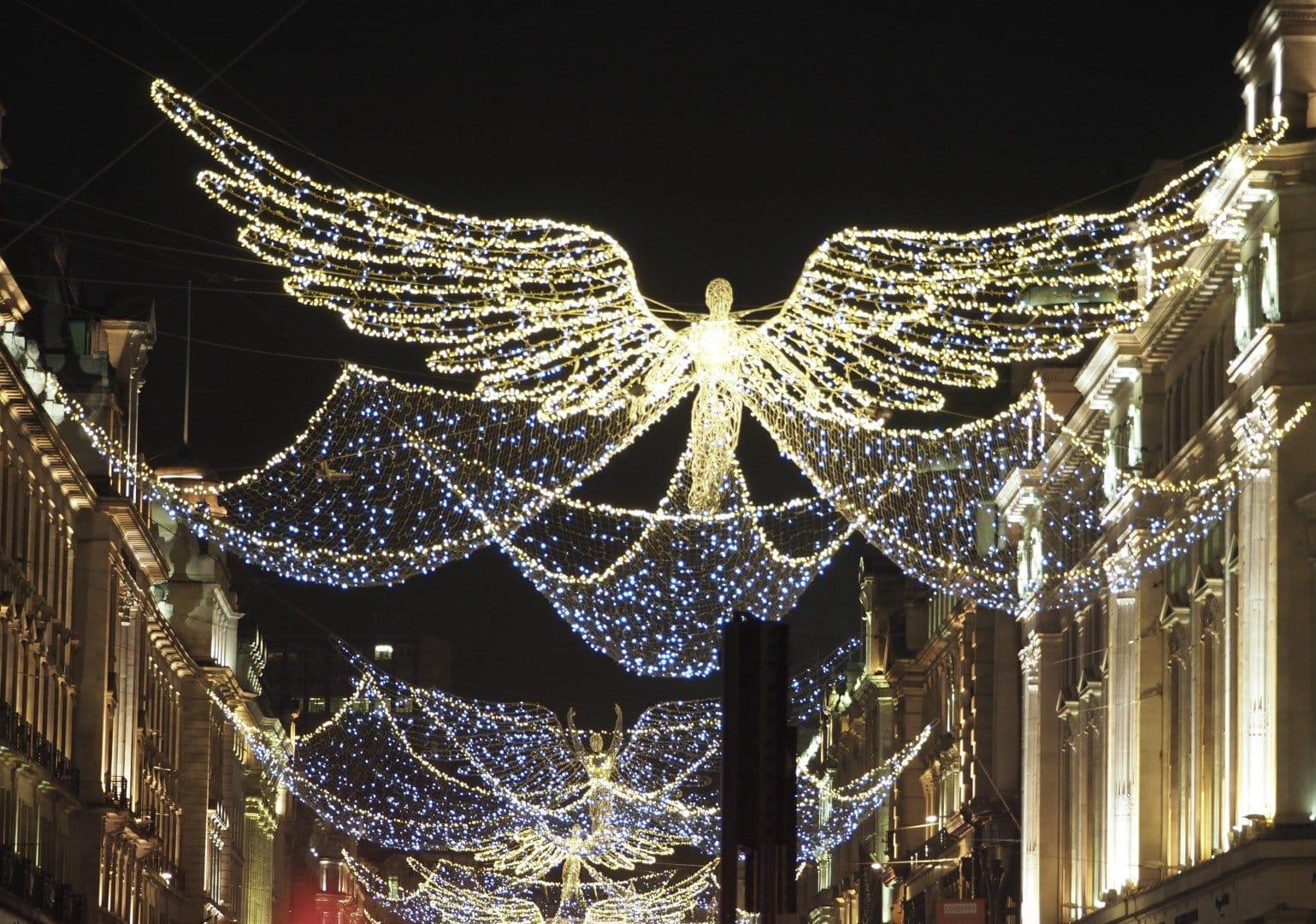 Regent Street - weird Christmas Connections