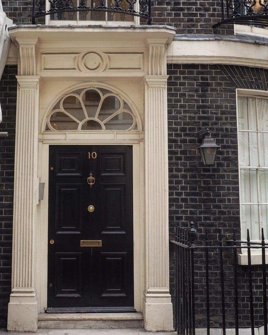 Historic London Doors - Look Up London