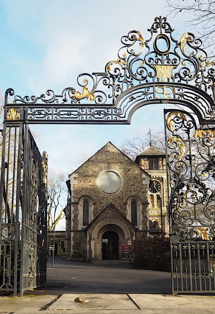 St Pancras Old Churchyard