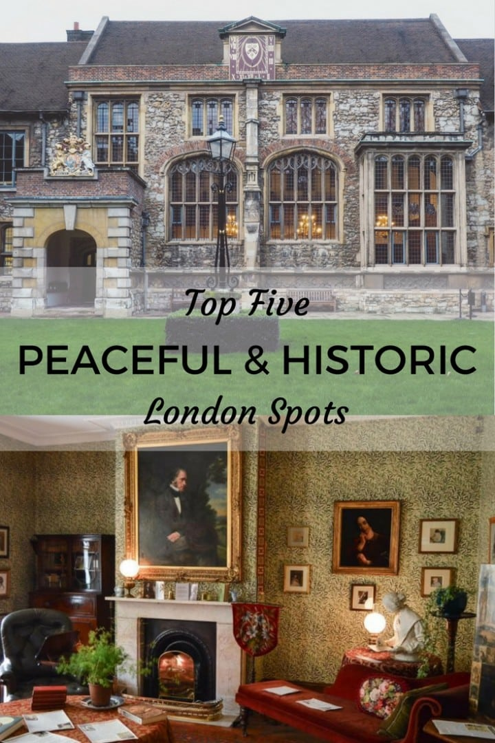 peaceful historic london spots