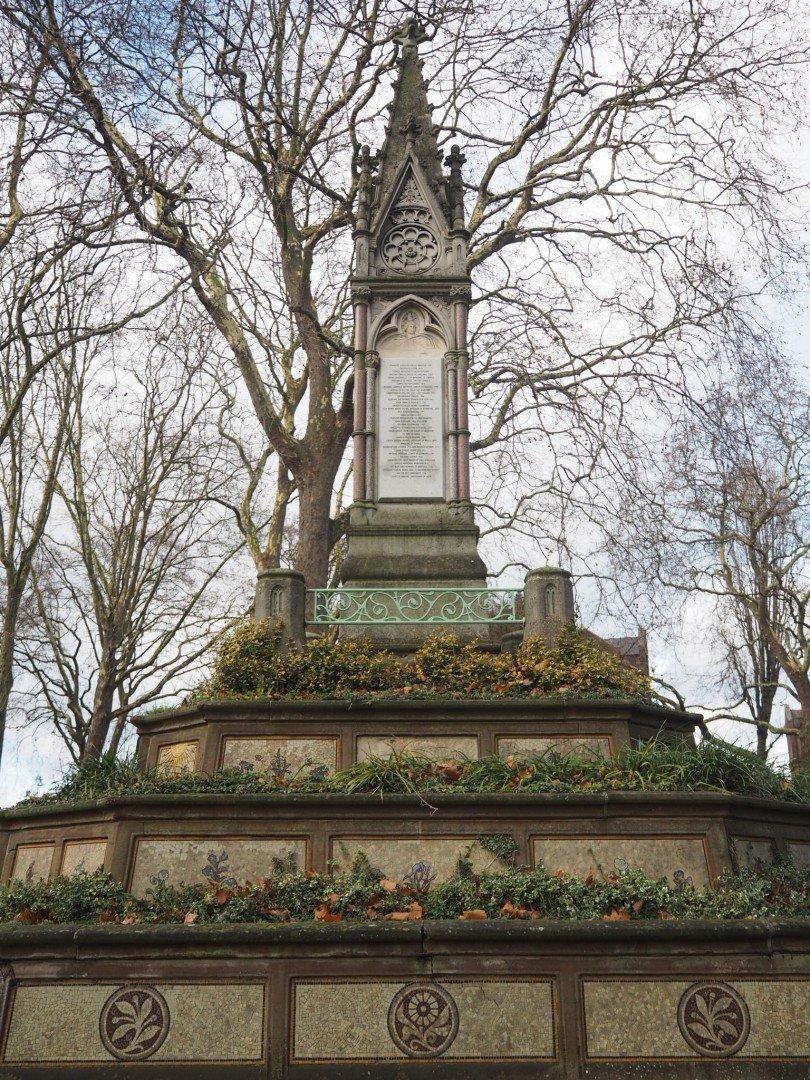 Burdett Coutts Old St Pancras Churchyard