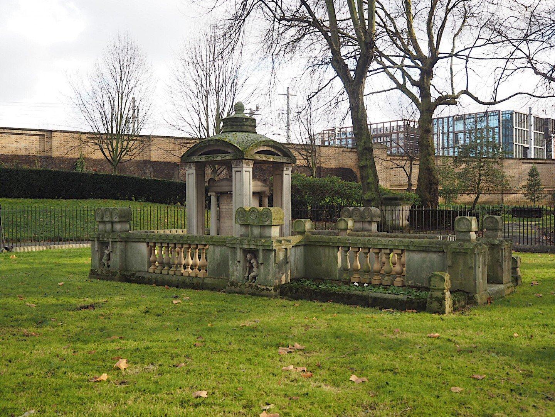 John Soane Old St Pancras Churchyard