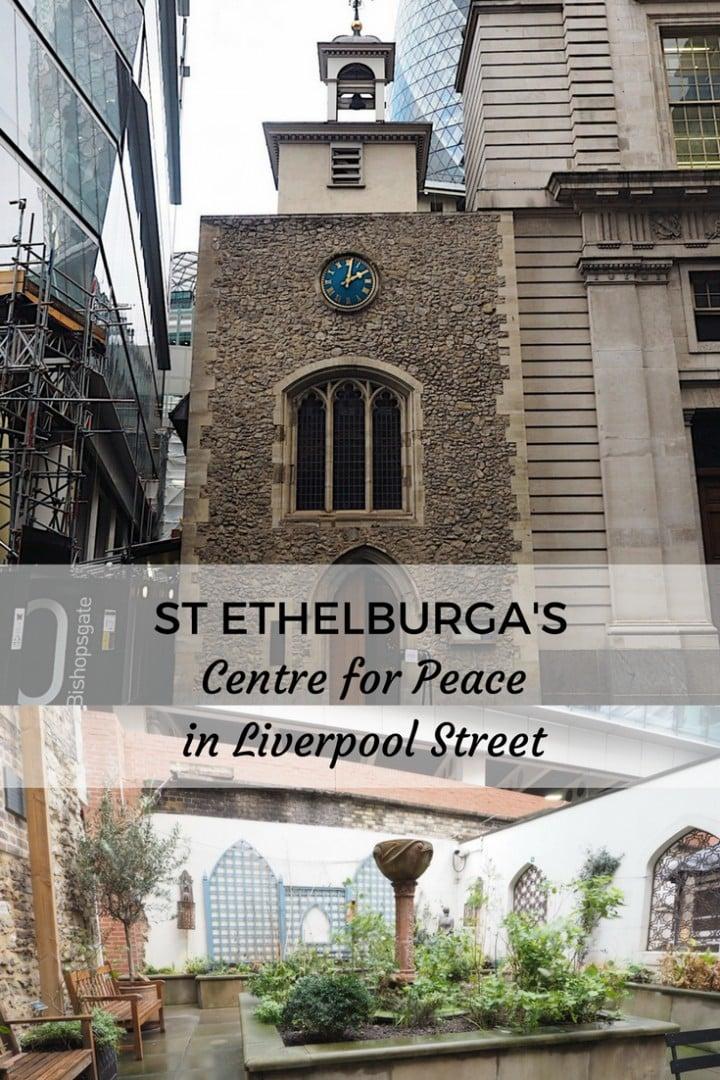 St Ethelburga's Liverpool Street