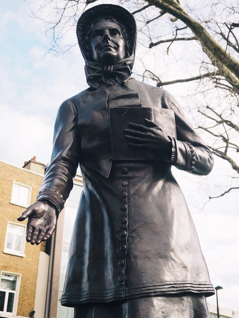 International Womens Day London statues