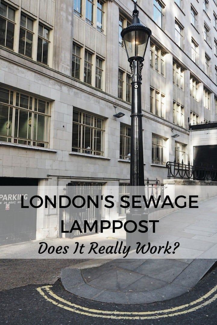 Carting Lane Sewage Lamppost
