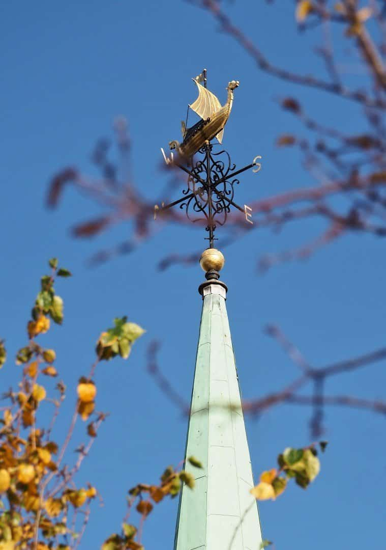 London Weathervane Norwegian Church