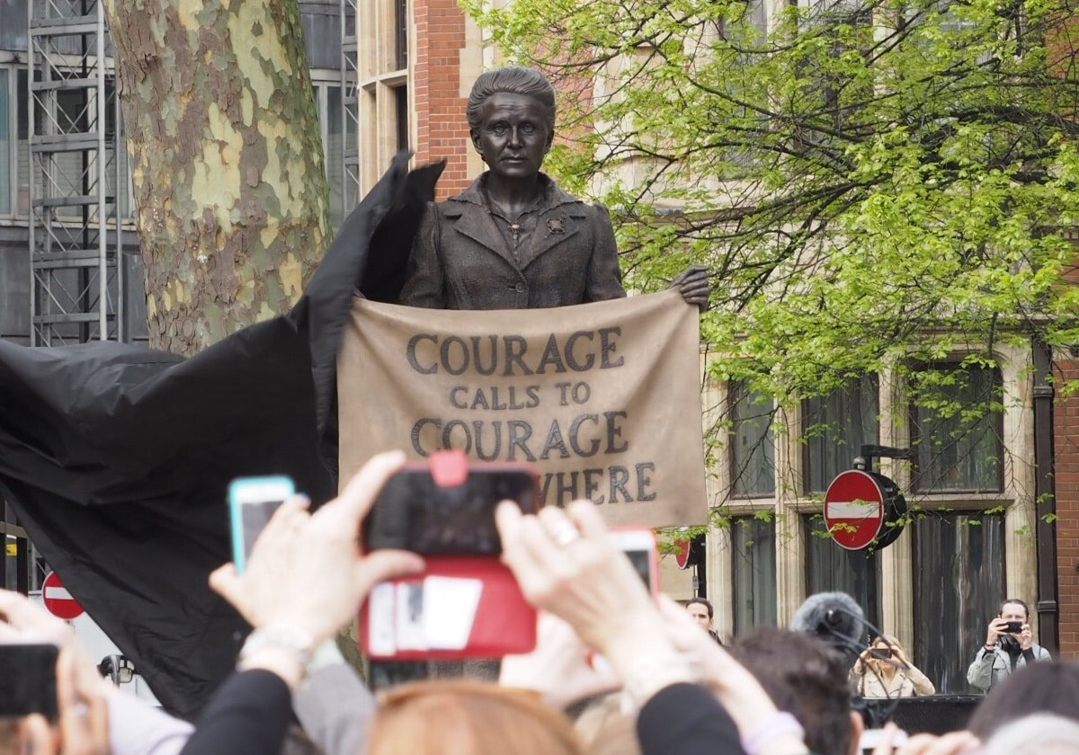 Millicent Fawcett Parliament square
