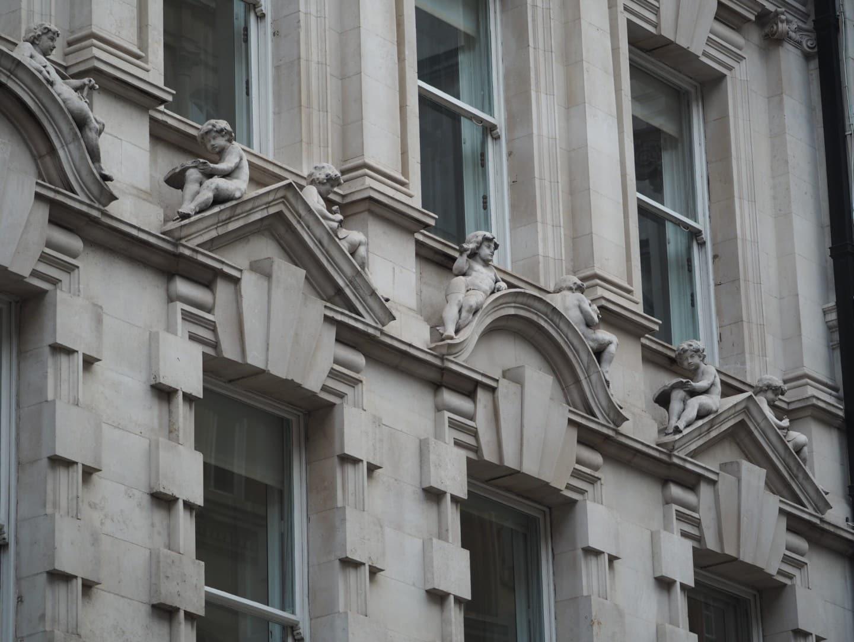 London strange cherubs