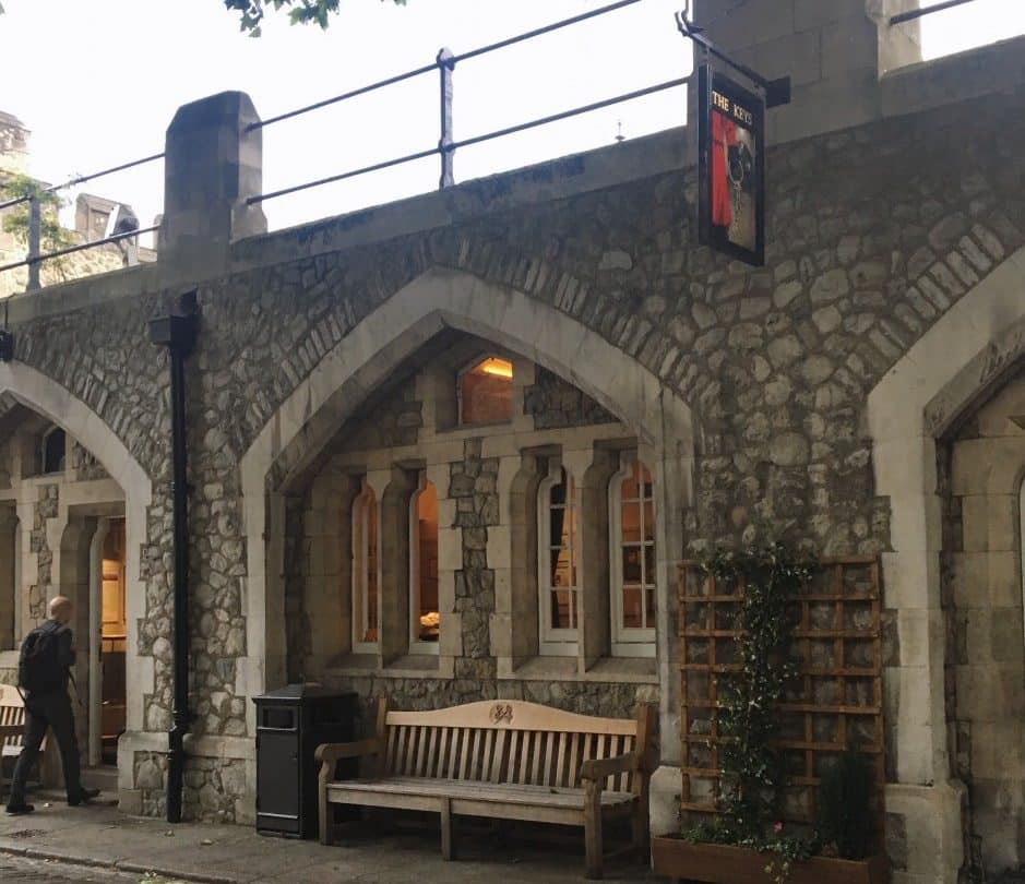 Tower of London Secret Pub