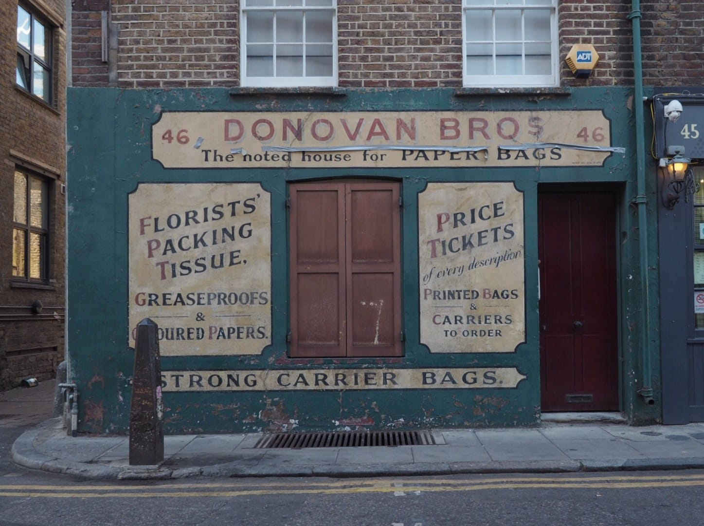 Old Signs Spitalfields