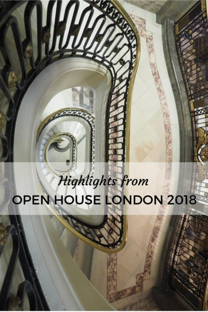 Open House London Highlights
