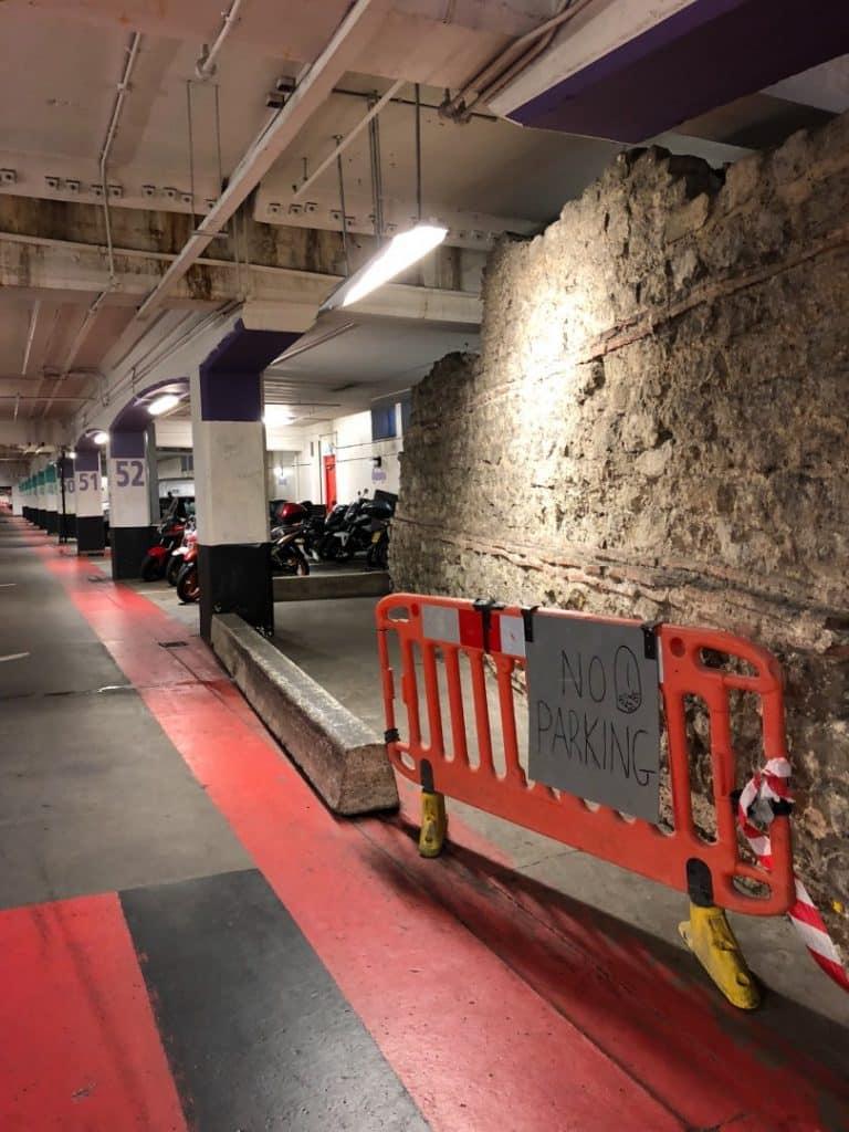 Roman Wall Car Park