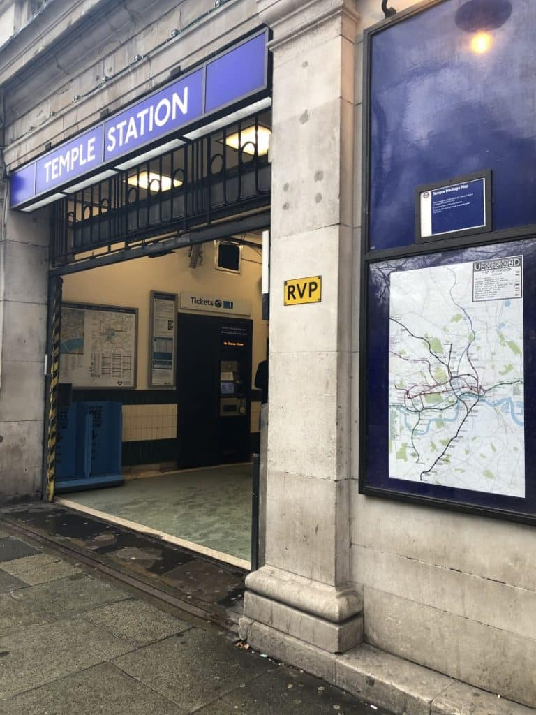 Temple Tube Station